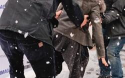 Demi Moore nearly tumbled on Main Street&#8217s icy sidewalk as she headed into the Puma lounge last week