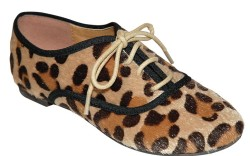 Leopard-print  laceup by MIA