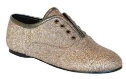 NINA&#8217s all-over glitter slip-on shoe