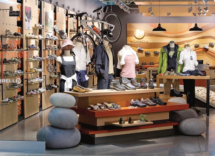 Merrell Milestone: Retail Revamp