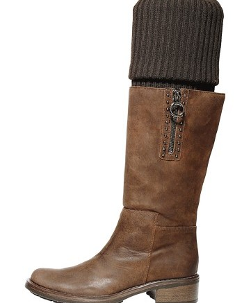 AQUATALIA&#8217s riding boot with built-in sock