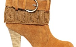 G BY GUESS&#8217 sweater bootie  with buckle detail