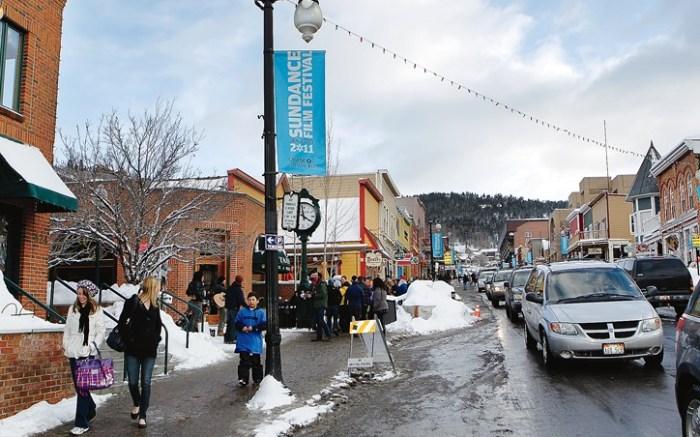 On the street at Sundance