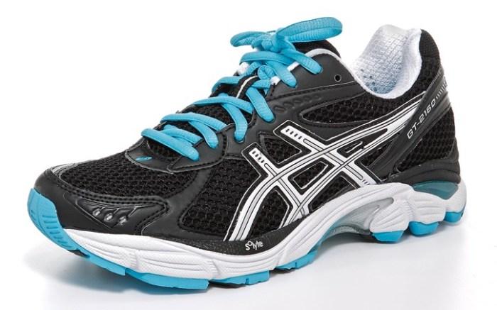 ASICS&#8217 cushioning running shoe