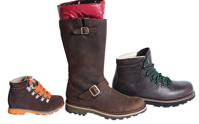 Boot styles from Merrell&#8217s upcoming Origins collection
