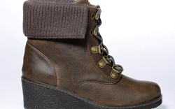 Wedge style with fold-down cuff by JESSICA SIMPSON