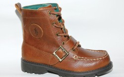 Mid-height boot with buckle detail by POLO RALPH LAUREN