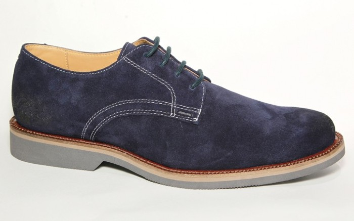 GUESS&#8217 classic navy suede oxford