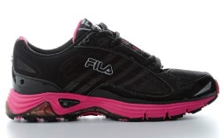 FILA&#8217s women&#8217s running shoe with mesh upper