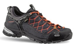 Lace-to-toe suede shoe from SALEWA