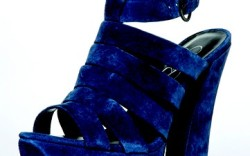 Chunky suede platform sandal by JESSICA SIMPSON
