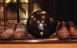 Bowling shoes by George Esquivel