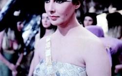 Elizabeth Taylor as Cleoptatra
