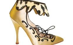 A shoe from Manolo Blahniks fall 11 line