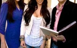 Khloe Kardashian Kim Kardashian and Bruno Schiavi