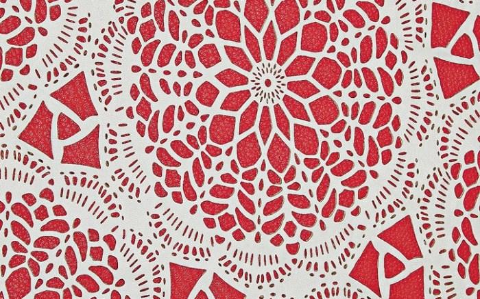 New Pelli&#8217s doily-effect sheepskin