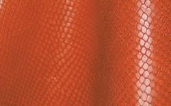 Red full-grain cowhide from Ausonia