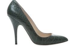 BALLY&#8217s embossed snakeskin style