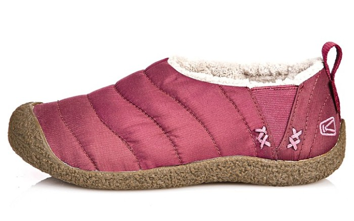 Quilted slip-on bootie from KEEN