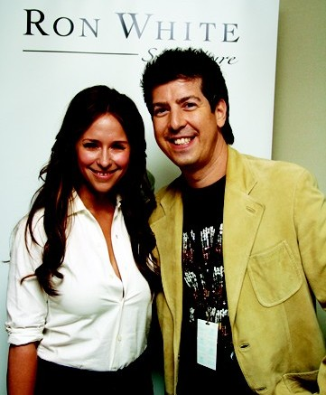 Jennifer Love Hewitt and Ron White