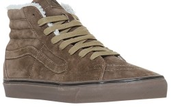 Suede high-top for men from VANS
