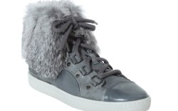 Women&#8217s high-top style with fur cuff from ALEXANDER MCQUEEN COLLECTION FOR PUMA