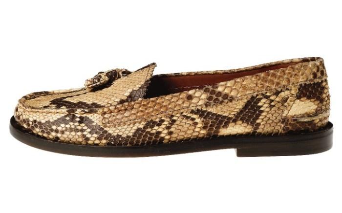 Chloe python leather shoe