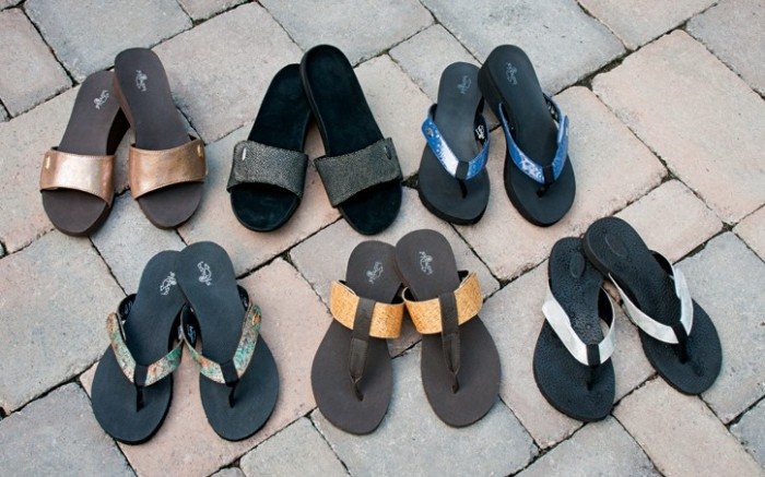 Looks from Bandals Footwear collection