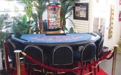 Work footwear gets star treatment in a casino-like atmosphere at La Isla Uniforms in Las Vegas