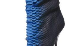 Giuseppe Zanotti snakeskin bootie