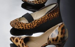 Leopard prints leave a fierce impression on daytime flats and tailored pumps