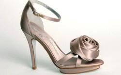 A bridal style from Beverly Feldman