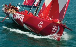 Camper has signed up with Emirates Team New Zealand for the Volvo Ocean Race 2011-12