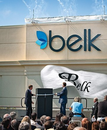 Belk unveils the redesigned logo on Oct 12 2010