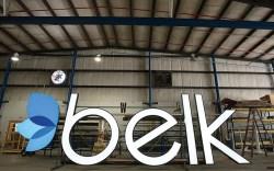 Belk logo store
