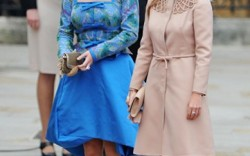 Princesses Eugenie and Beatrice in Jimmy Choo shoes