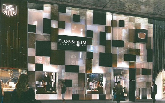 The forthcoming Florsheim store in Sydney