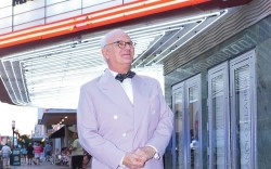 Manolo Blahnik received the Andre Leon Talley Lifetime Achievement Award at the Savannah College of Art & Design