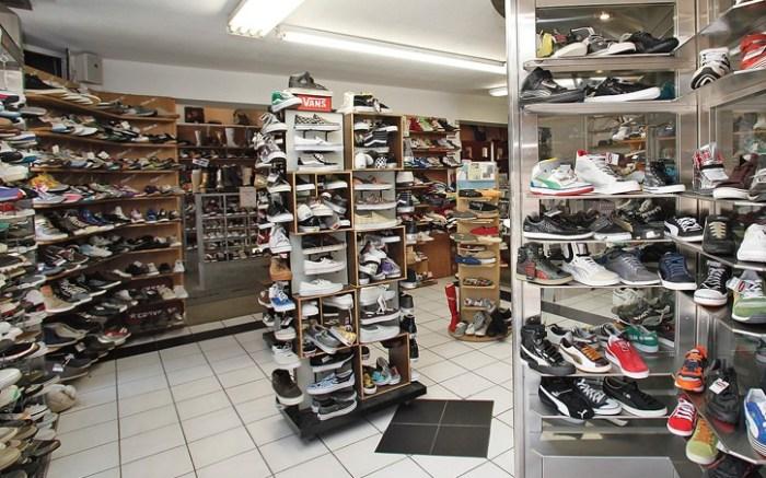 Sportie LA&#8217s sales floor at the flagship location