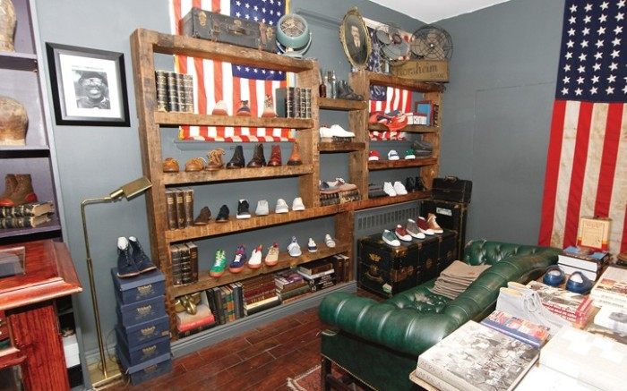 The Brooklyn Circus shoe library