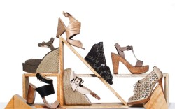 Clockwise from top BCBGeneration Toms Shoes Marc Fisher Adrienne Vittadini Pour La Victoire Elizabeth & James and Charles David