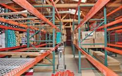 Sportie LA warehouse is centralized in a single location in 2008