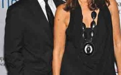 Mark Weber and Donna Karan