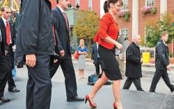 Sarah Palin in Naughty Monkey pumps