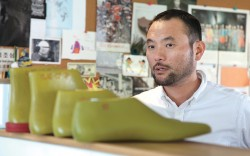 Sung Choi Founder and creative director Clae