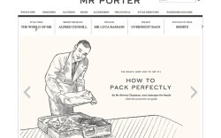 Mrportercom which launched in February blends commerce and content in an attempt to educate men on clothing accessories and of course footwear