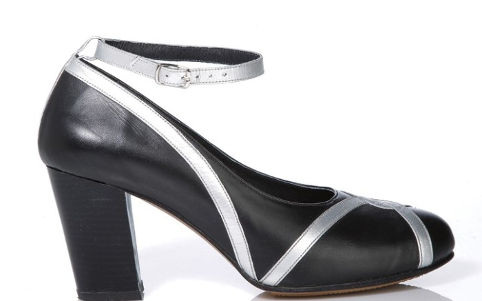 Rising designer Alice Chen has put a custom spin on dress comfort shoes with removable orthotics