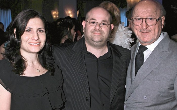 Geneva Wasserman Gary Shar and Bob Campbell at a recent event in New York