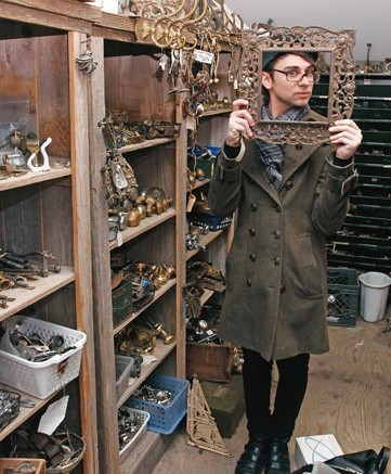 On the hunt for sources of inspiration Christian Siriano often turns to antique shops to find the quirky and the beautiful