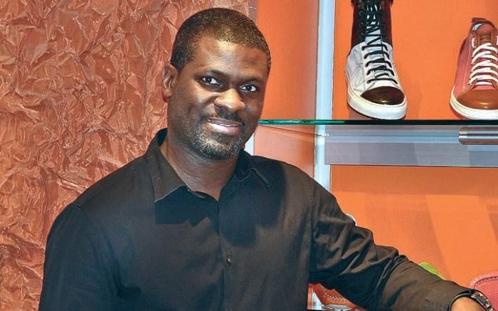 Steve Jamison owner of Blue Sole Shoes